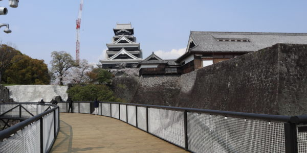 籠城の時を経て…  熊本城特別公開第2弾! 熊本城空中回廊「特別見学通路」開通